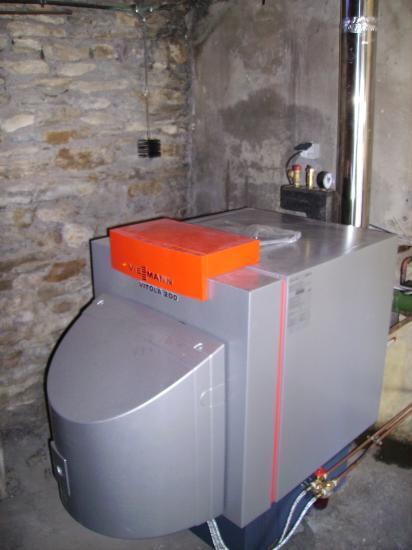 Chaudi re fuel basse temp rature vitola 200 viessmann - Chaudiere gaz basse temperature viessmann ...